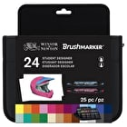 Winsor & Newton Brush Marker Student Designer Wallet Set of 24